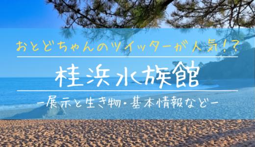 おとどちゃんのツイッターが人気!?桂浜水族館の見どころを徹底解説