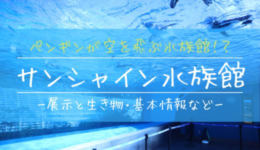 サンシャイン水族館の見どころ徹底解説【おすすめ展示をエリア別に紹介】