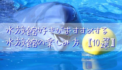 水族館好きがおすすめする水族館の楽しみ方【10選】